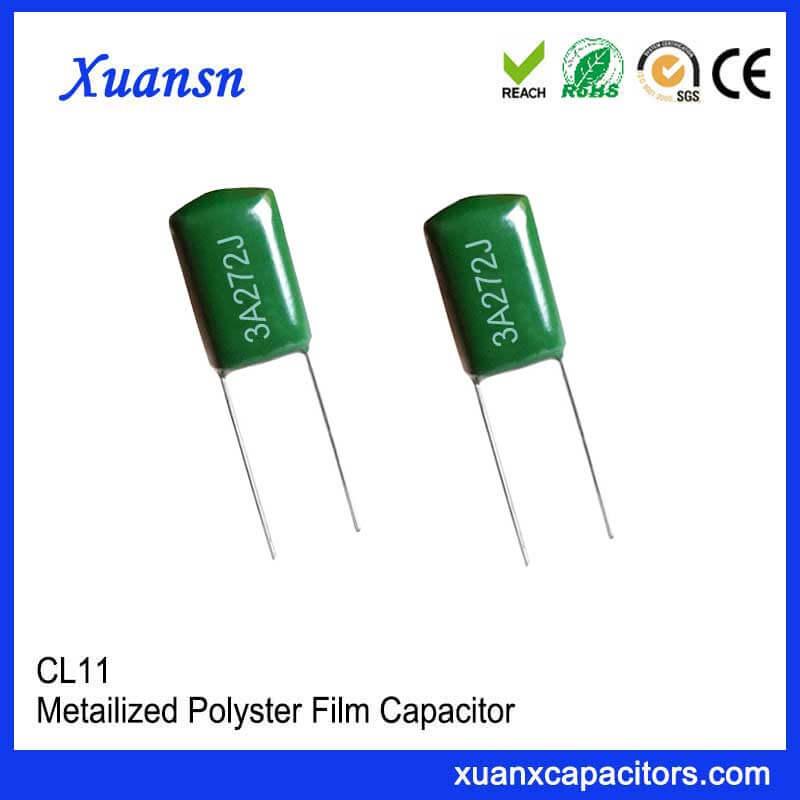 Metal foil capacitor 272J1000V