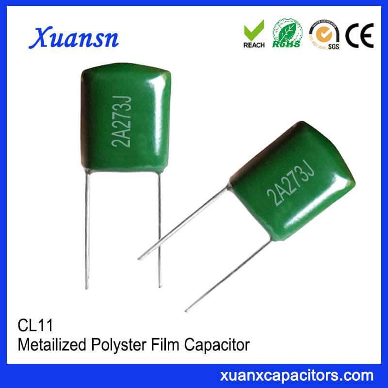 100V273J CL11 film capacitor
