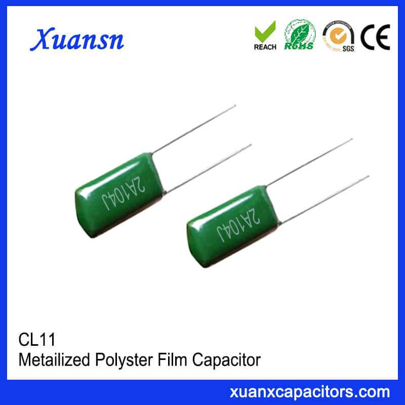 CL11 104J100V Film capacitor