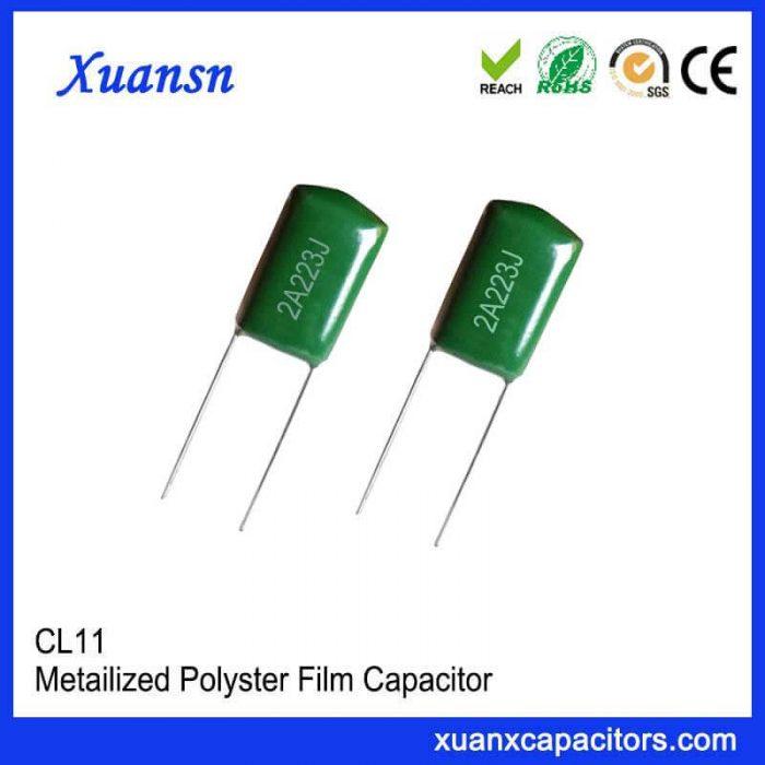 Film capacitor CL11 capacitor 223J100V
