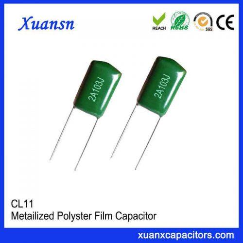 Best film capacitors for audio CL11
