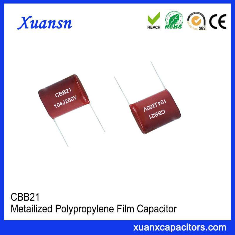 104J 250V P=10mm film capacitor