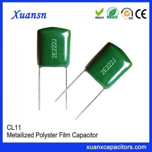 Metal polyester film CL11 222J250V