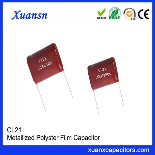 CL21 223J 250V Film Capacitor