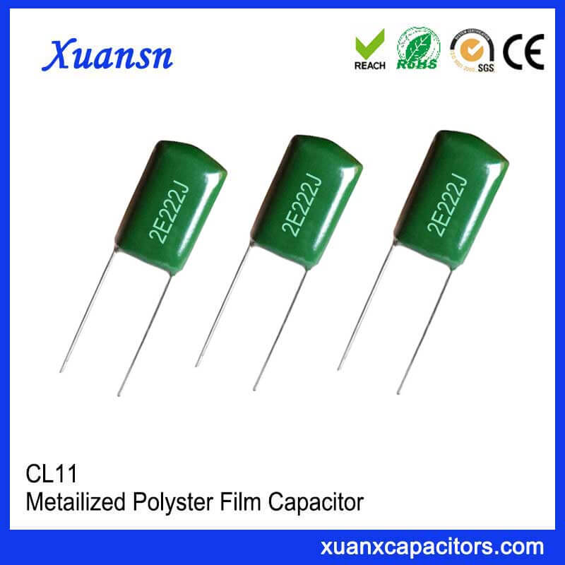 Metal polyester film CL11 222J250V