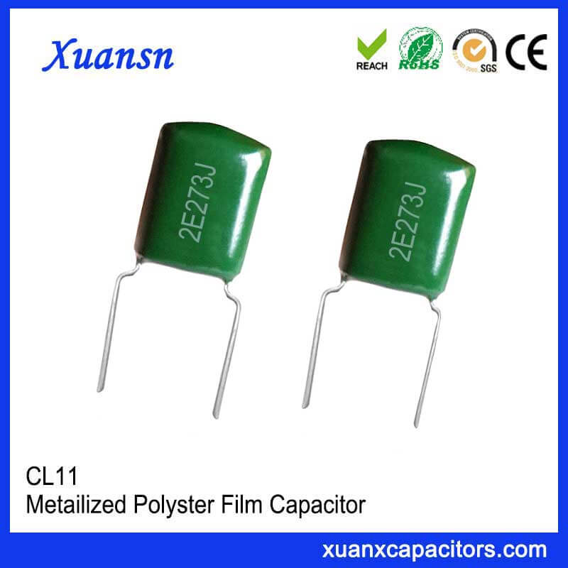 Polyester capacitor CL11 273J250V