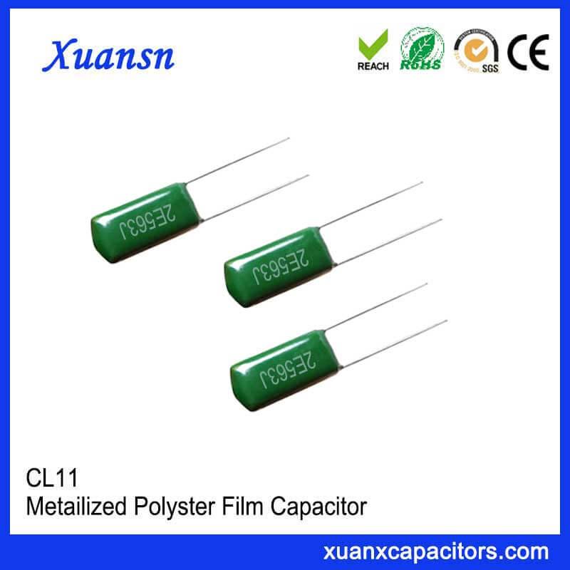 CL11 polyester capacitor 563J250V