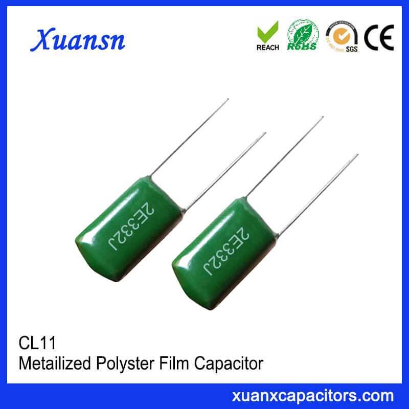 Film capacitor CLL 332J250V