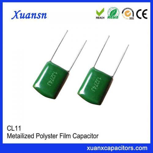 CL11 film foil capacitor