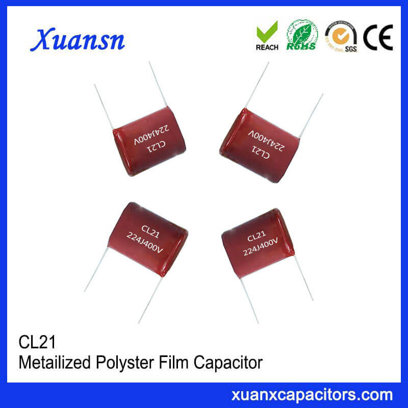 Electronic Film Capacitor 224J 400V