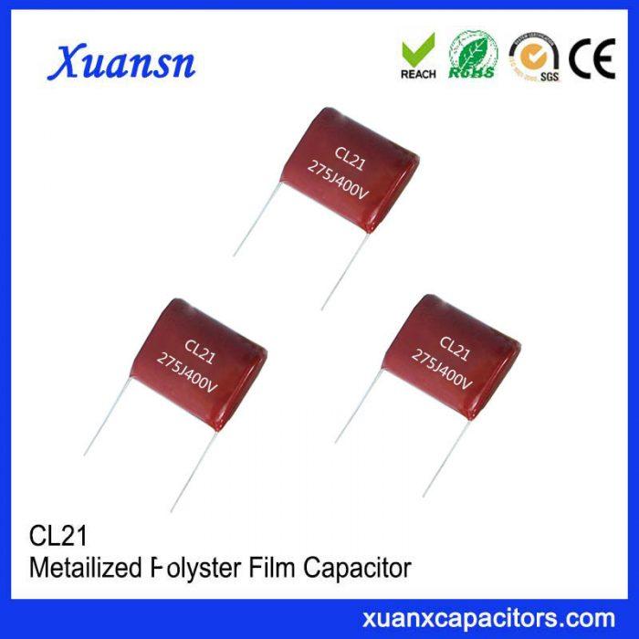 275J 400V Cl21 capacitor