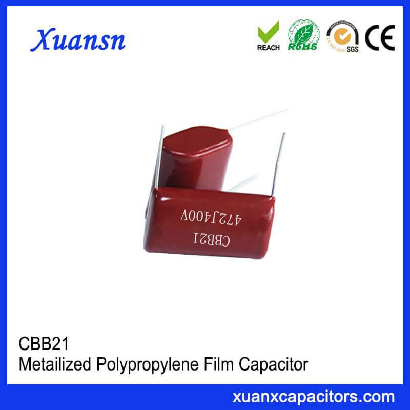 CBB21 472J 400V film capacitor