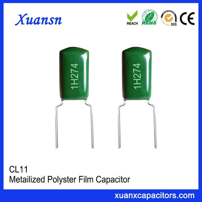CL11 274J50V Green film capacitor