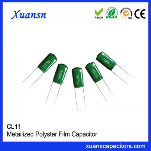 CL11 film capacitor 683J50V