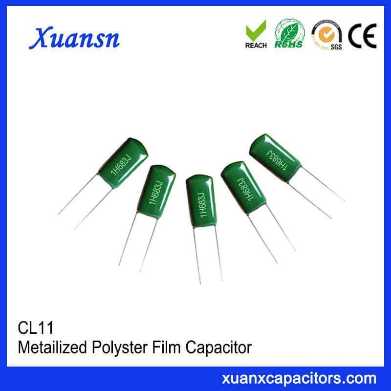 CL11 film capacitor 683J50V