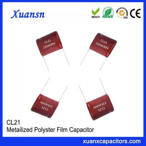 Polyester Capacitor cl21 630V 225
