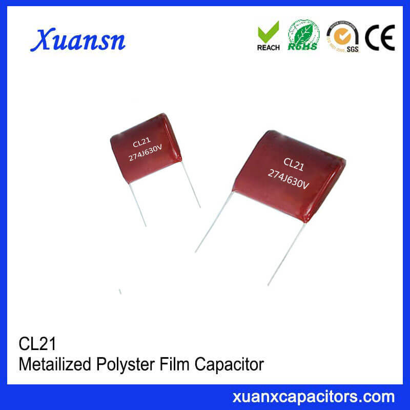 Factory direct supply CL21 film capacitor