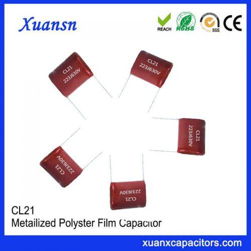 LED drive resistance capacitance
