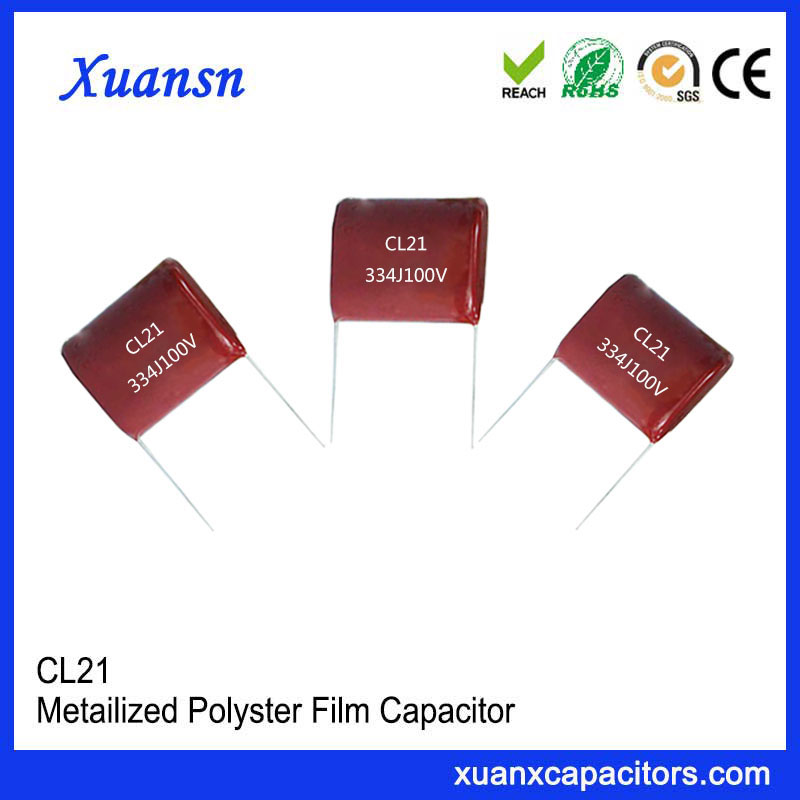 CL21 capacitor 334J 100V