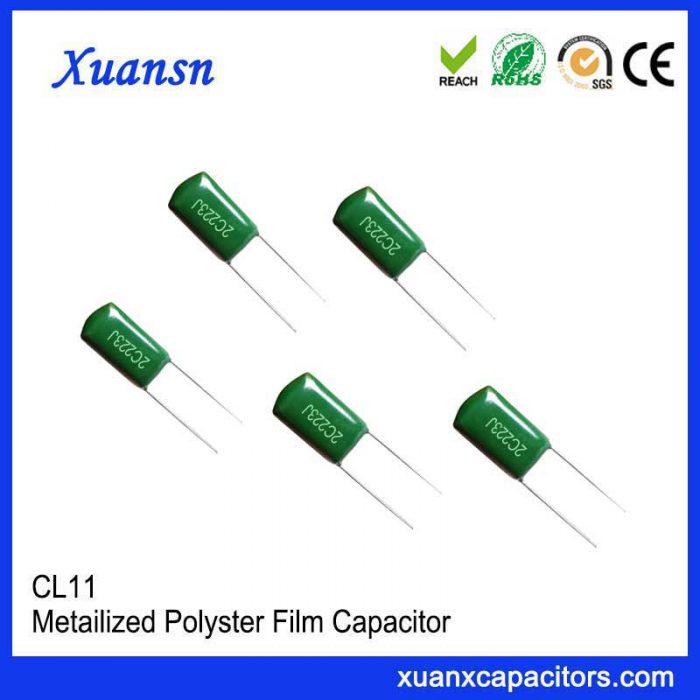 Large capacity Mylar capacitor 223J 160V