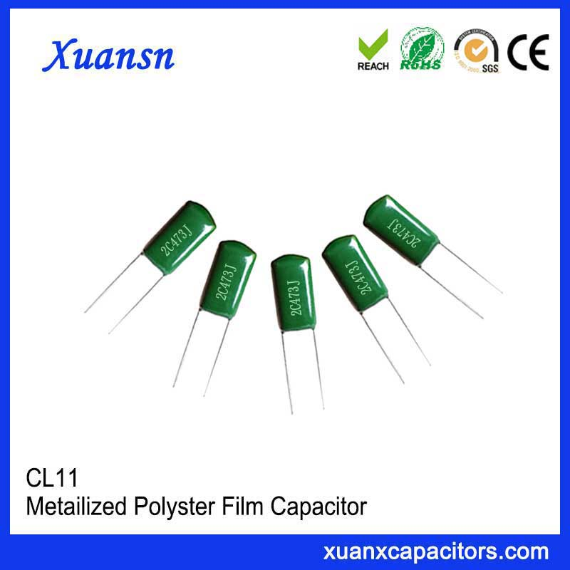 film condenser CL11 473J160V