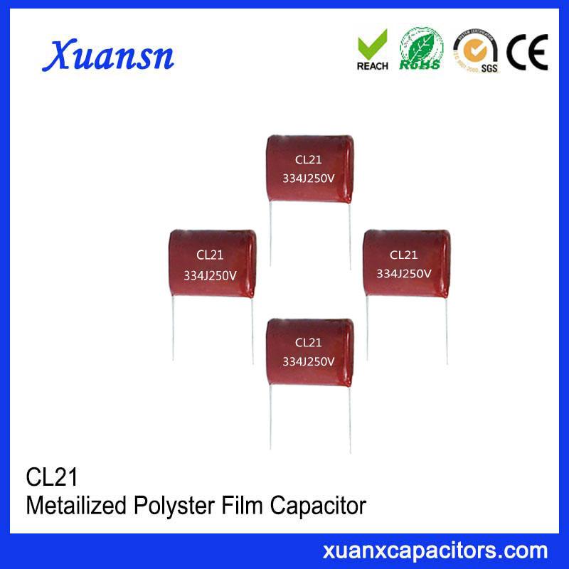 CL21 Capacitor 334J 250V