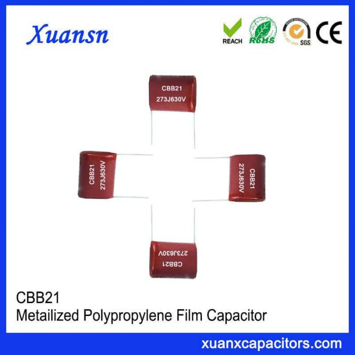 CBB21 metal film capacitor