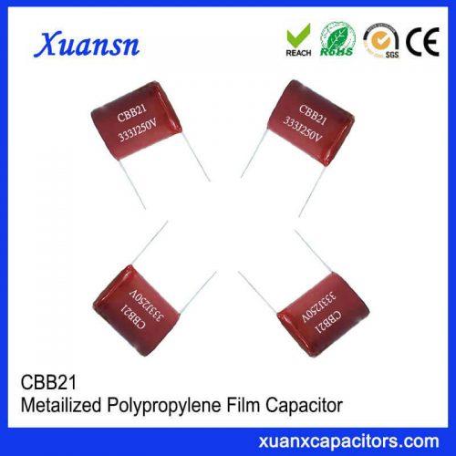 0.033μF CBB21 film capacitor