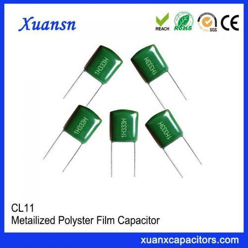 Mylar capacitor 333j50v