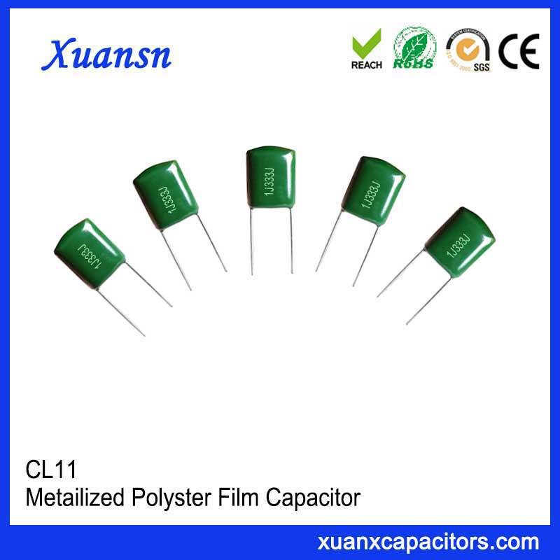 film condenser CL11 333J63V