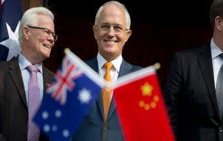 Australia's dependence on China