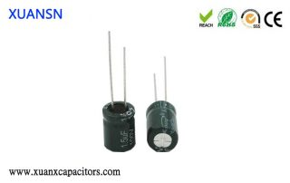 polar and non-polar capacitors
