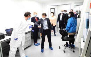 """Fire Eye"" virus testing laboratory"