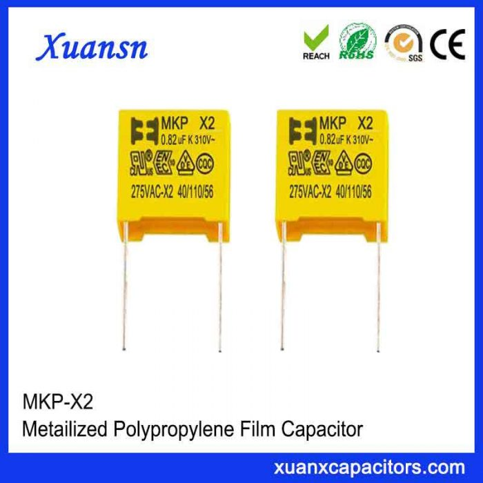 Safety capacitor X2