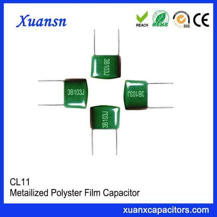 Inductive structure capacitor CL11