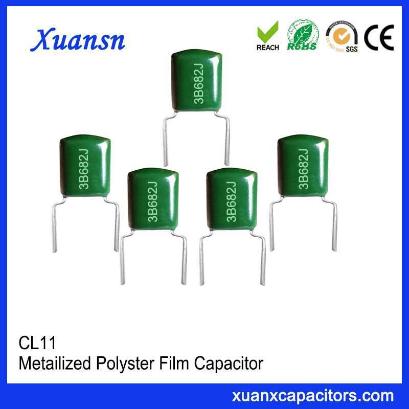 Thin film Mylar capacitor CL11