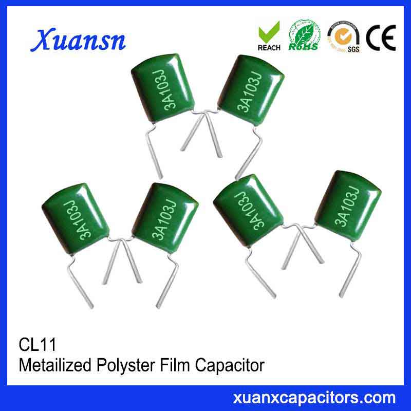 In-line Mylar capacitor CL11