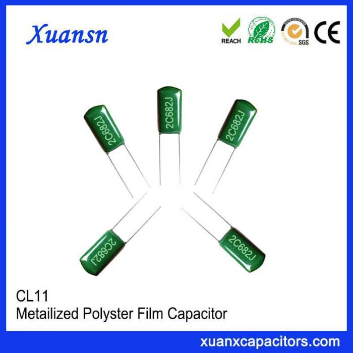 Foil capacitor 682J