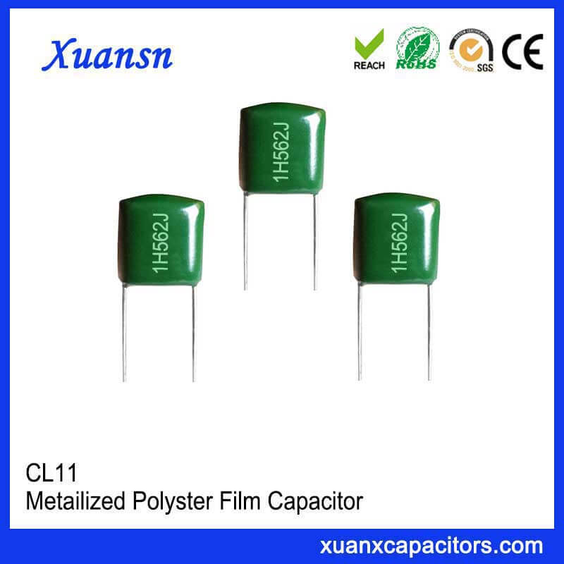 High quality Mylar capacitor CL11