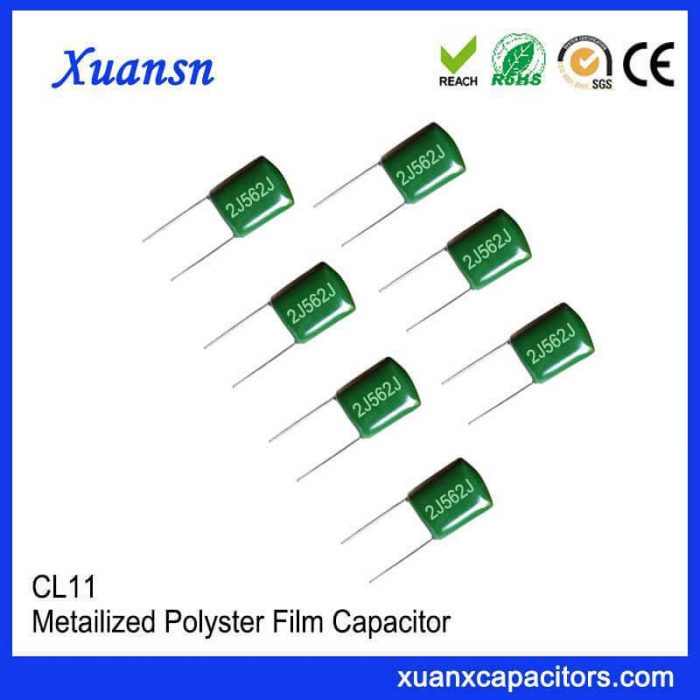 Solid capacitor CL11 562J630V