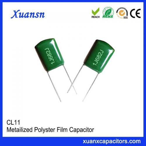 Film capacitor CL11 682J63V