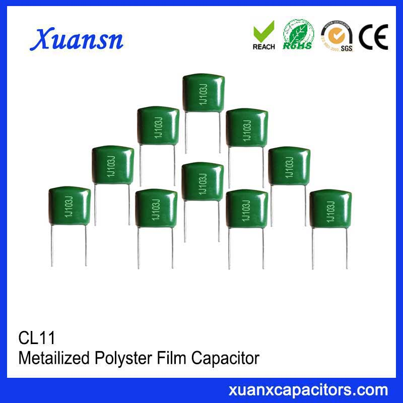 Bypass capacitor CL11 103J63V