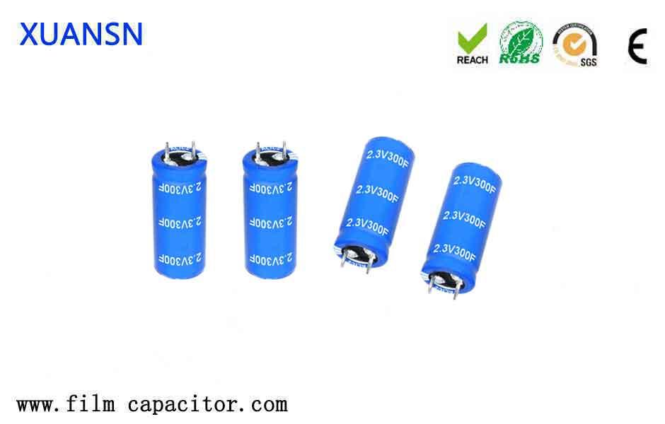 Features of super capacitors