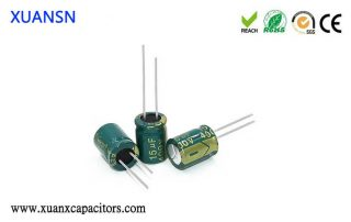 High frequency low resistance capacitor