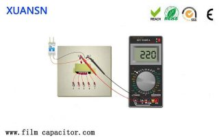 How to test an AC capacitor