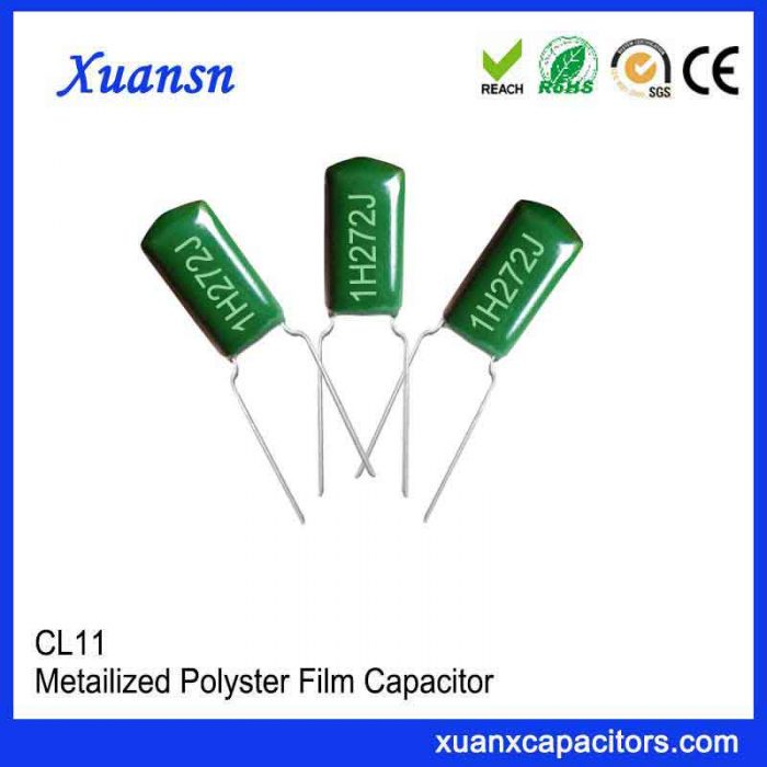 0.0027uf polyester film capacitor