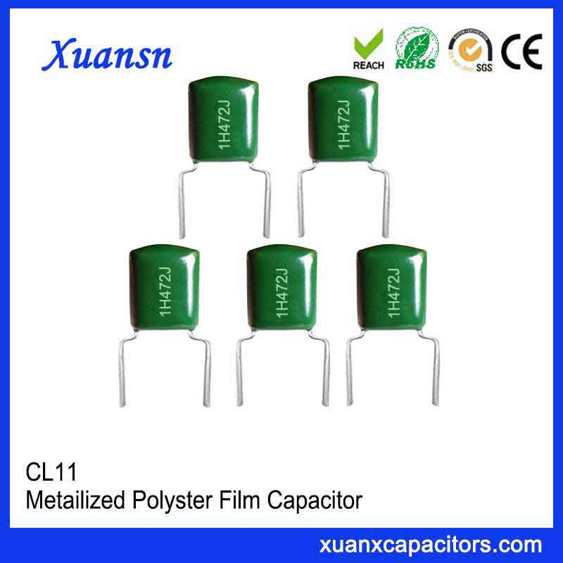 50V polyester film capacitor CL11