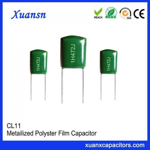 50V polyester film capacitor CL11
