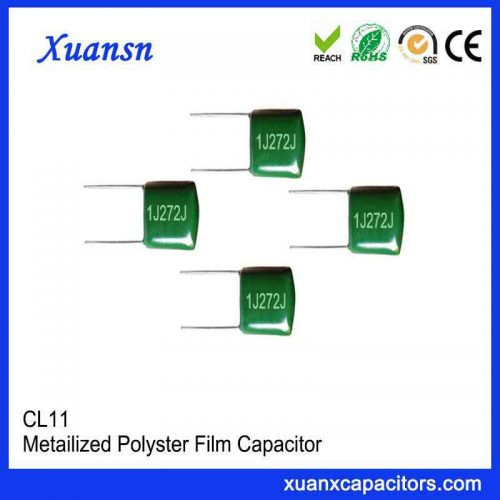 CL11 polyester film capacitor