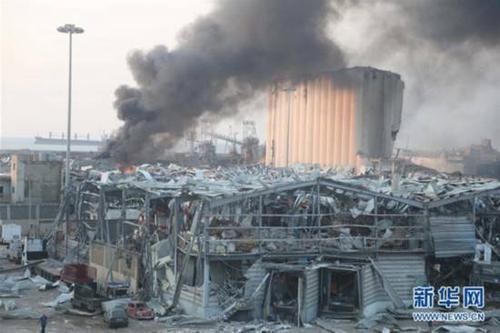 beirut explosion in Lebanon
